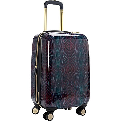 Aimee Kestenberg Women's Ivy 20' Hardside Expandable 8-Wheel Spinner Carry-on Luggage, Midnight Python