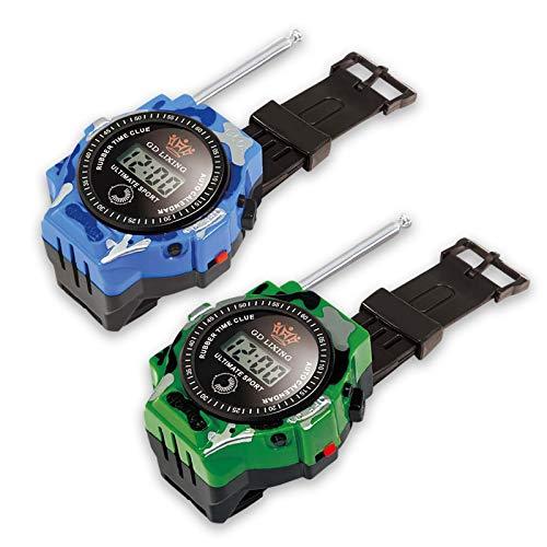 トランシーバー おもちゃ 子供 腕時計 ウォッチ&トランシーバー 男女兼用 2台セット