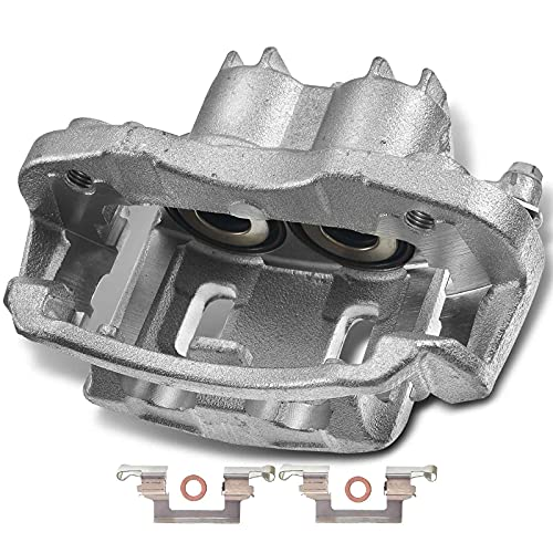 A-Premium Disc Brake Caliper Assembly with Bracket Compatible with Ford...