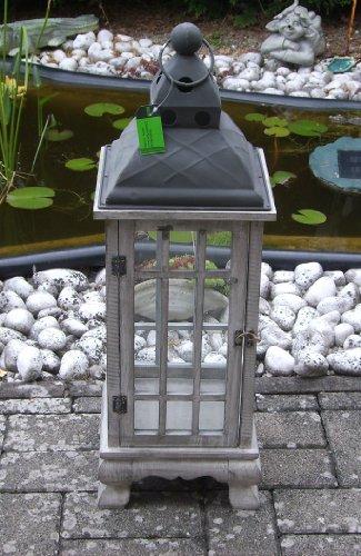 También sirve como farol con cúpula de metal 65,5 cm! 10052