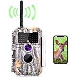 BlazeVideo WiFi Wildkamera 24MP Beutekamera Wildtier Jagd Kamera Überwachungskamera mit 2304x1296 H.264 MP4/MOV Video