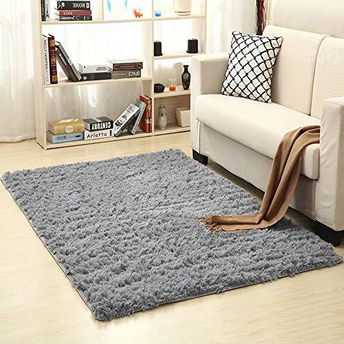 ACZZ Creativo ligero grueso lavado lana de seda antideslizante sala de estar mesa de café cubículo estera de yoga,#3,140 * 200CM