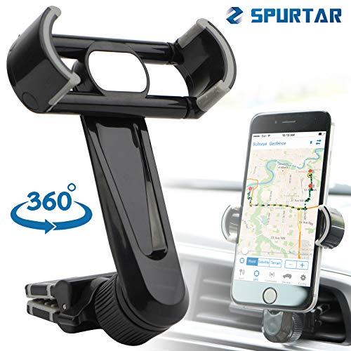 Wittyware Telefoonhouder voor Auto Vent Universele Clip 360° Draaibare Mount Cradle Voor Apple Iphone X 8 7 6s 6 Plus Samsung Galaxy S8 S7 S6 Edge S5 A3 Note 5 4 Lg G6 G5 Htc Pixel - En meer
