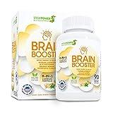VEGEPOWER Brain Support Supplement 90 Caps-9-IN-1...