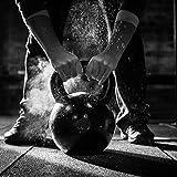 Kettlebell / Kugelhantel 2 – 24 kg / Handgewicht 100% Stahlguss - 7