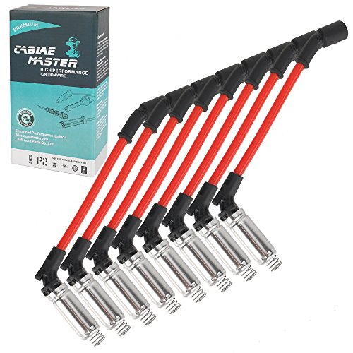 Cable Master 10mm Racing Performance Spark Plug Wires Compatible with