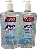 Purell Sanitizer 1 Liter Twin Pack (67.6 Oz),, 67.6 Fl Oz ()