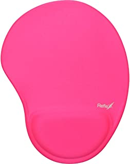 Mouse Pad em Gel, Reflex, Pink, 19X25Cm, em Tecido