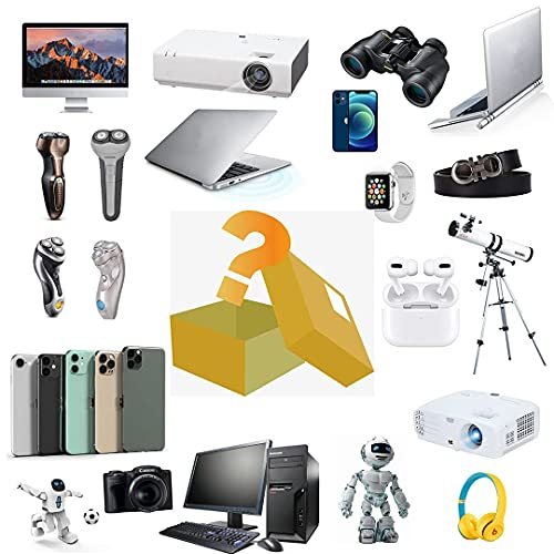 nakw88 Scatola cieca Mystery Box Electronics, Mystery Boxes Random, Birthday Surprise Box, Lucky Box for Adults Surprise Gift, Such As Drones, Smart Watches, Gamepads And More, Best Gift for Holidays