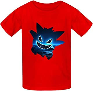 Fantasy Gen-Gar Kids T-Shirts Short Sleeve Tees Summer Tops for Youth//Boys//Girls