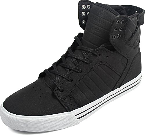 Supra Skytop Unisex-Erwachsene Hohe Sneakers, Schwarz (BLACK / WHITE - WHITE 005), 40 EU