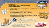 Vitakraft Dental 3in1 Multipack – Zahnpflege-Snack für Hunde ab 10 kg – 16x 7 Sticks - 4