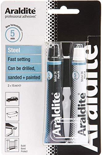 Araldite® Expoidkleber für Stahl, 15ml, 2Tuben, ARA-400010