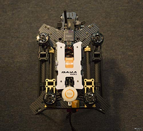 Daya 680 680 daya-680 Folding 4-Axis Carbon Fiber UAV H4 Quadcopter Frame w/Landing Gear for FPV RC Multicopter Drone Frame Kit
