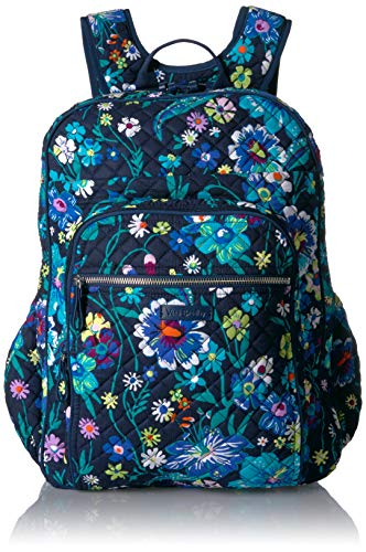 Vera Bradley Signature Cotton XL Campus, Moonlight Garden
