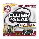 ARM & HAMMER Clump & Seal LightWeight Cat Litter, Multi-Cat, 4.08-kg (Equals 8.16-kg of Non-LightWeight Litter)