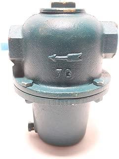 WATTS STMF&TTRP-7G-15 ILLINOIS Iron STEAM Trap 1IN NPT 25IN-HG to 15PSI