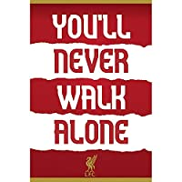 LIVERPOOL FC リヴァプールFC - You'll Never Walk Alone/ポスター 【公式/オフィシャル】