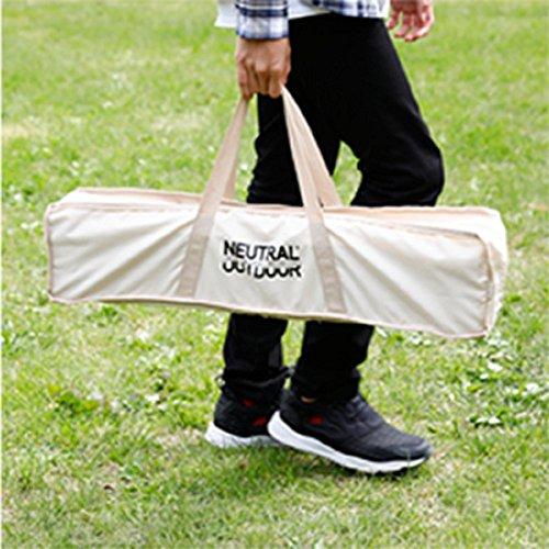 NEUTRALOUTDOOR(ニュートラルアウトドア)NT-BT11バタフライバンブーテーブル独自の四つ折り構造採用高さ調整36-51cm34939