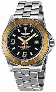 Superocean 44 Automatic Black Dial Stainless Steel Mens Watch C1739112-BA77