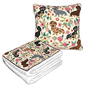 crib bedding and baby bedding funindiy travel throw blanket and pillow - premium warm soft 2 in 1 large compact blanket flannel fleece combo blanket for home office or trips