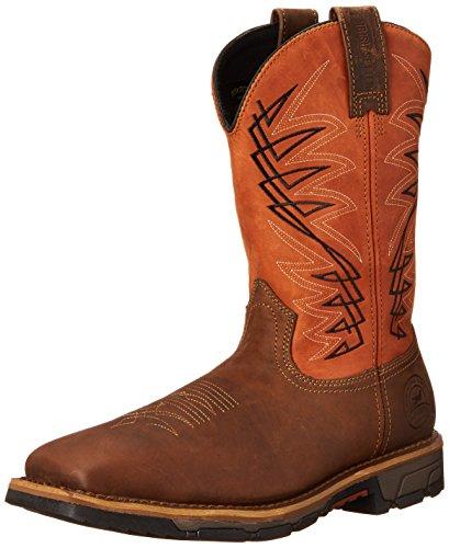 Irish Setter Work Men's 83911 Marshall 11' Work Boot,Brown/Rust,10 EE US