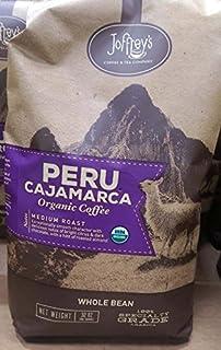 Joffrey's Peru Cajamarca organic Whole bean coffee 2LB