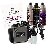 Norvell Sunless Kit - Z3000 Professional Mobile HVLP Spray Tan Airbrush Machine...