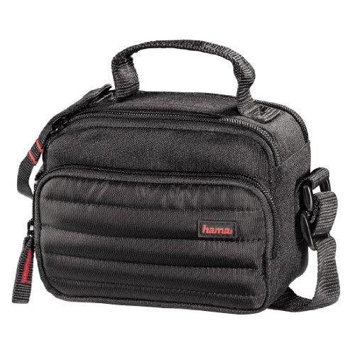 Hama Kameratasche/Videotasche gepolstert für eine Digitalkamera/kompakte Systemkamera und Camcorder, Syscase 100, Schwarz