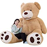 IKASA Giant Teddy Bear Plush Toy Stuffed Animals 200cm