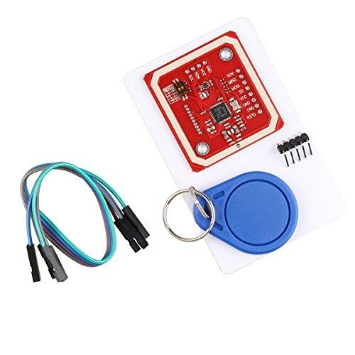 HALJIA PN532 NFC NFC NFC NFC RFID V3 Lese-/Schreibmodul unterstützt Kommunikation mit Android Mobile Kompatibel mit Arduino Raspberry Pi DIY etc.