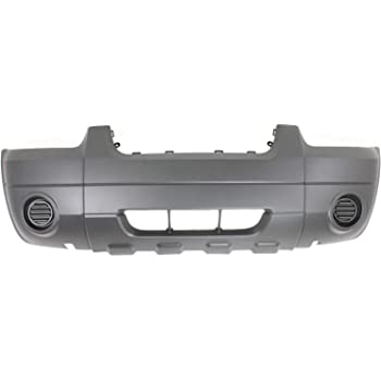 Crash Parts Plus Textured Front Bumper Cover Replacement for 2005-2007 Ford Escape