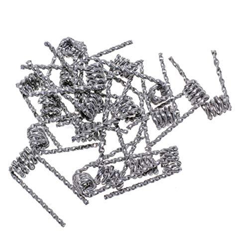 Preisvergleich Produktbild 20x Torch Coils aus KA1 Fertigcoils Wickeldraht Draht Wicklungen RBA RTA RDTA RDA (20x Torch Coil)