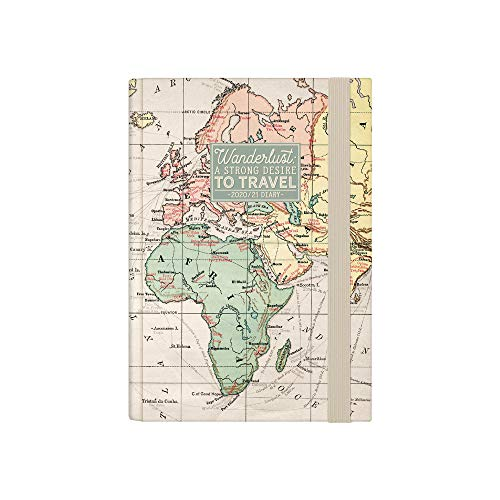 Legami - Agenda Settimanale 16 Mesi 2020/2021 Small, con Notebook, Multicolore (Map), 9.50 x 1.70 x 13.50 cm