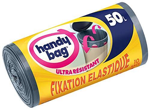 Handy Bag Sac Poubelle, Le 1 Rouleau de 10 Sacs, 10L