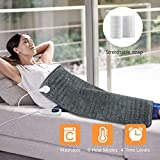 Heating Pad,MOICO Electric Heating Pad XXX Size 16'x30'Large Heating Pads for Back Pain Heat Pad Moist Heating...