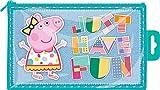 Peppa Pig Brillante Plástico Estuche 'Just Have Fun'