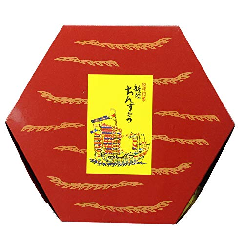 琉球銘菓 新垣ちんすこう 子亀六角箱 6種×各4個