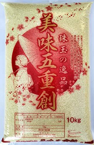 新米 令和元年産 美味五重創 10kg