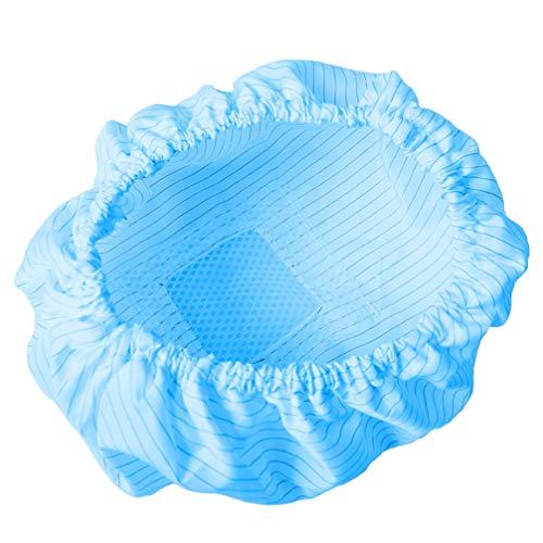 PRETYZOOM Bonnet de Douche Élastique Bonnet de Travail Respirant Protecteur de Tête pour Les Cosmétiques La Beauté La Cuisine La Cuisine Les Industrie