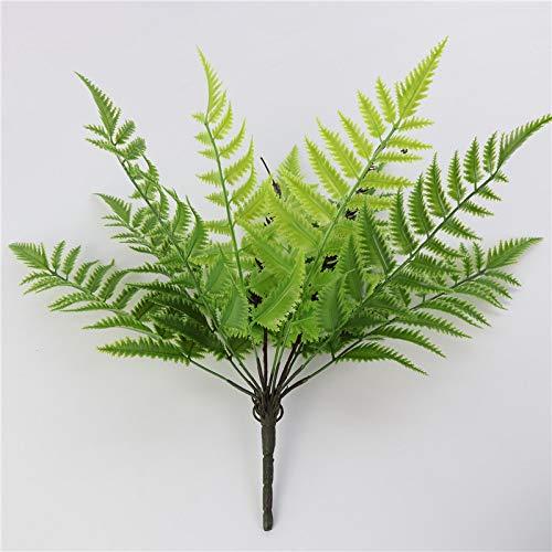 anruo Fake Boston Fern Kunstgras Planten Varen Struik Struiken Binnen Buiten Thuis Keuken Kantoor DIY Hotel Tafeldecoratie i