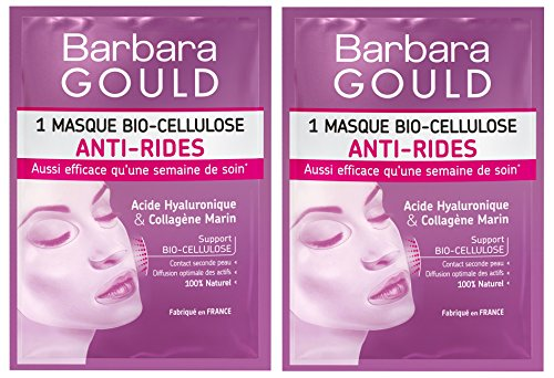 Barbara Gould - Masque Bio-Cellulose Anti-Rides -...