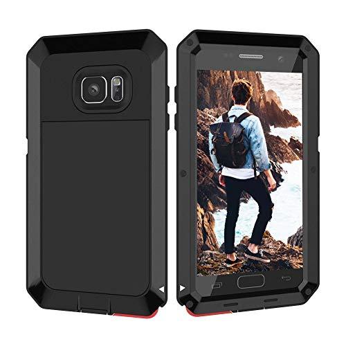 Beeasy Funda Samsung Galaxy S7,Antigolpes Rígida Robusta Antigravedad Carcasa Resistente al Impacto Militar Duradera Blindada Fuerte de Seguridad al Aire Libre Case Cover,Negro