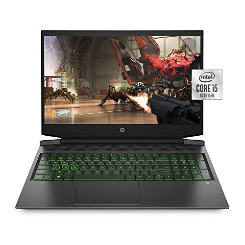 HP Pavilion Gaming 16 Laptop PC, NVIDIA GeForce GTX 1650 Ti, Intel Core i5-10300H, 8GB DDR4 RAM, 512GB PCIe NVMe SSD, 16.1' Full HD, Windows 10 Home, Backlit Keyboard (16-a0020nr, 2020 Model)