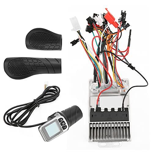 Controlador De Motor Bicicleta Eléctrica 34V / 48V 500W Motor Controlador Sin Escobillas Controlador De Onda Sinusoidal Acelerador De Medio Giro con Pantalla LCD