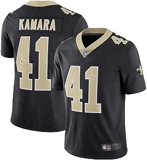 Mitchell & Ness New Orleans Saints #41 Alvin Kamara Limited Men's Black Home Jersey