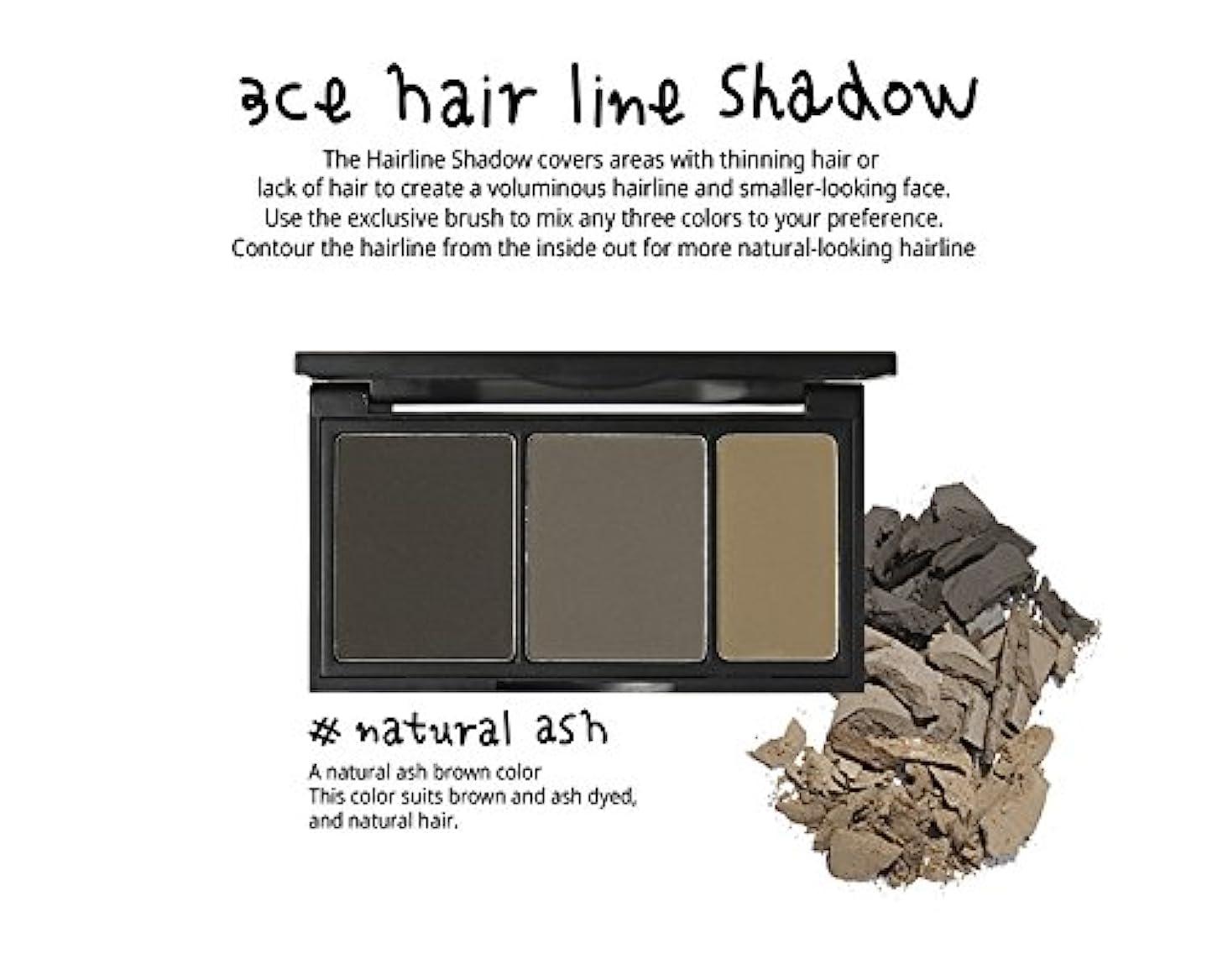 胸浴室ソーシャル3 Concept Eyes 3CE Hair Line Shadow ヘアラインシャドー(Natural Ash)
