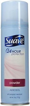 3 Pack - Suave 24 Hour Protection Anti-Perspirant Deodorant Spray Powder 4 oz