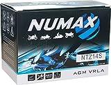 Numax - Batterie moto Numax Premium AGM YTZ14S 12V 11.2Ah 230A