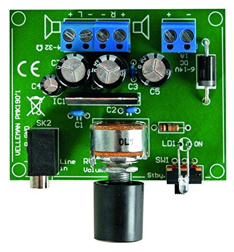VELLEMAN - MK190 Minikits versterker voor MP3-speler 148169
